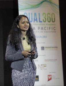 Lego's Regional Manager, Marketing Insights & Effectiveness Keerthi Kumaravelu
