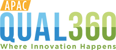 Logo QUAL360 APAC – Where Innovation Happens